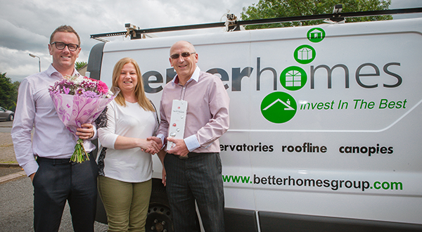 NETWORK VEKA TOPS £900M SALES WITH ANOTHER FLAWLESS JOB FROM BETTERHOMES