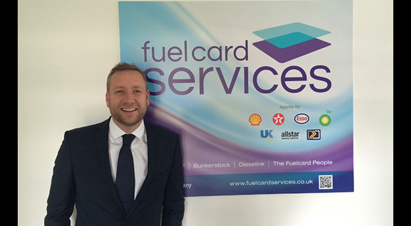 GROWTH MEANS NEW SALES HEAD FOR FUEL CARD SERVICES