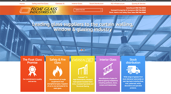 FLOAT GLASS INDUSTRIES LAUNCHES NEW WEBSITE