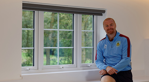 THE VEKA UK GROUP PROVIDES WINNING WINDOWS FOR BURNLEY FC MANAGER SEAN DYCHE