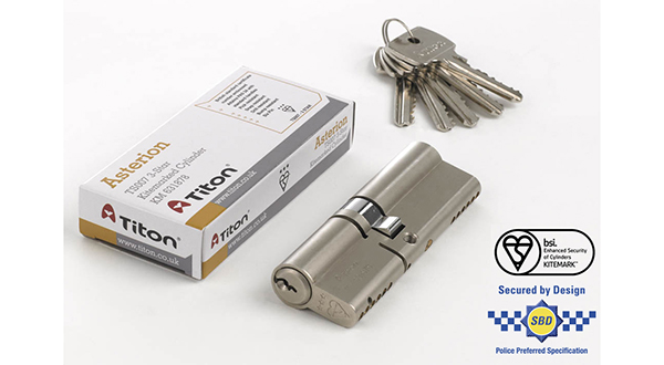 TITON DEVELOPS ASTERION 3-STAR HIGH SECURITY DOOR CYLINDER
