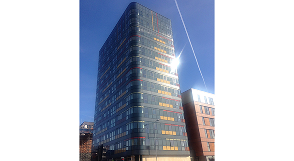 FLOAT GLASS INDUSTRIES' GLAZING EXPERTISE PLAYS KEY PART IN MANCHESTER'S NUOVO APARTMENTS