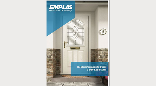 EMPLAS LAUNCHES 5-DAY TURNAROUND  ACROSS ITS MOST POPULAR COMPOSITE DOORS