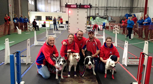 STAY! VEKA-SPONSORED DOG TEAM REACHES TOP OF THE LEADER BOARD