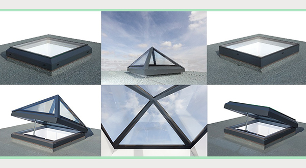 NEW RANGE OF ALUMINIUM ROOFLIGHTS FROM ALUMEN PROMISES TO ADD VALUE AND CHOICE TO ROOFS