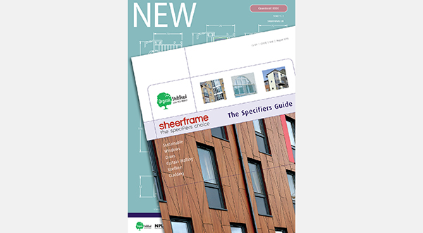 INTRODUCING THE SPECIFIERS GUIDE FROM SHEERFRAME