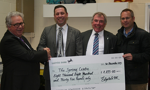 GLOUCESTERSHIRE CHILDREN'S CHARITY BENEFITS FROM THE GLAZING INDUSTRY