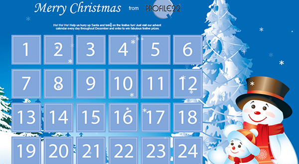IT'S BACK – THE PROFILE 22 ADVENT CALENDAR DRAW