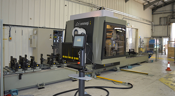 EMMEGI (UK) SUPPLIES A FIVE AXIS SATELLITE XT MACHINING CENTRE TO ALITEX