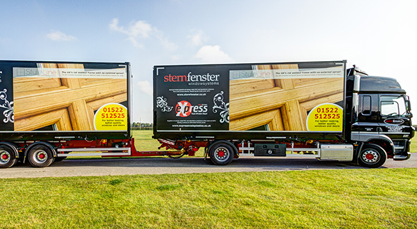 STYLELINE-BRANDED TRUCKS HIT THE ROAD TO PROMOTE THE PVC-U DIFFERENCE