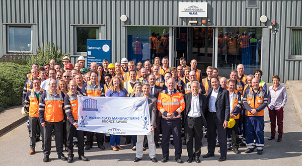 'GLASS COMPANY OF THE YEAR' ACCOLADE CROWNS ANNIVERSARY YEAR FOR SAINT-GOBAIN GLASS