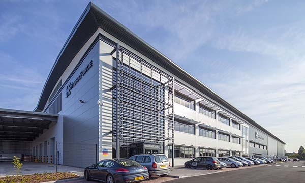 AluK SYSTEMS SPECIFIED FOR BIRMINGHAM'S INNOVATIVE ADVANCED MANUFACTURING HUB