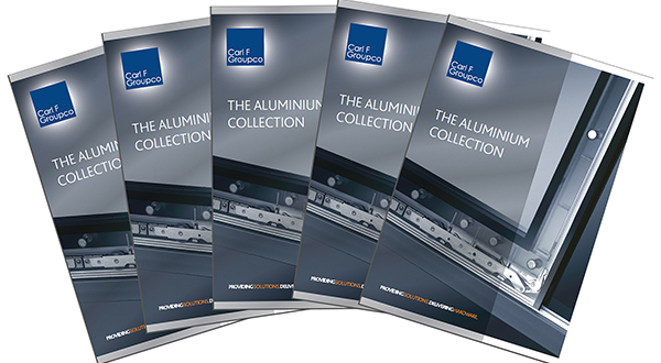 THE ALUMINIUM COLLECTION FROM CARL F GROUPCO