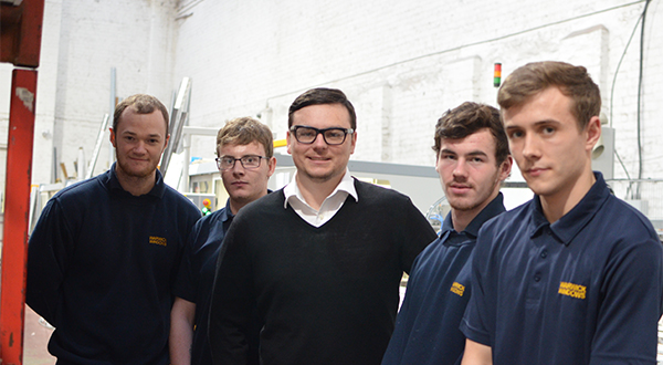 WARWICK NORTH WEST TACKLES INDUSTRY SKILLS SHORTAGE BY TAKING ON FOUR NEW APPRENTICES