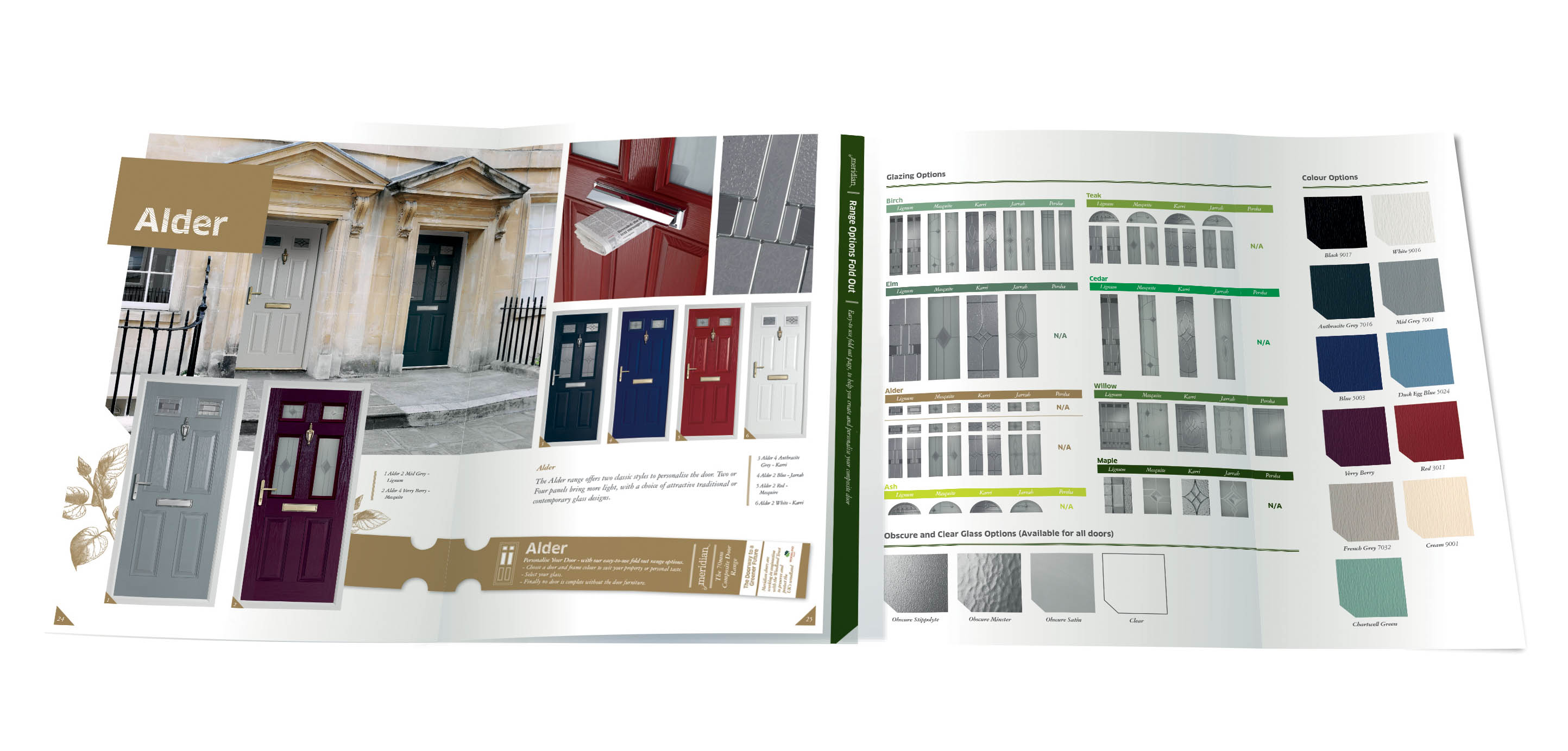 Demand prompts Phoenix Doors' Meridian Door brochure reprint