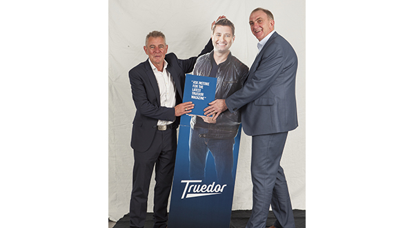 ANDY FARRINGTON: I LIKED TRUEDOR SO MUCH I TOOK THE FIT SHOW DISPLAY!