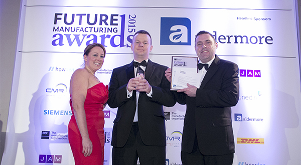 THE VEKA UK GROUP SCOOPS NATIONAL BUSINESS AWARD