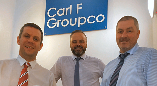 CARL F GROUPCO RECRUITS FOR THE REGIONS