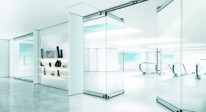 DORMA HSW EASY SAFE GLASS WALL OPENS UP NEW DESIGN POSSIBILITIES