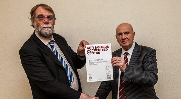 MPL AWARDED CITY & GUILDS ACCREDITED PROGRAMME STATUS
