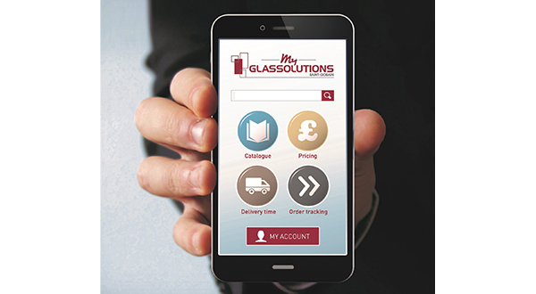 GLASSOLUTIONS TAKES GLASS ORDERING ONLINE WITH REVOLUTIONARY NEW APP