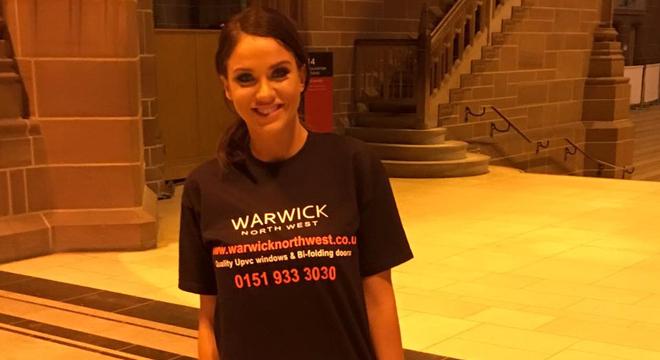 Warwick North West sponsor charity abseil