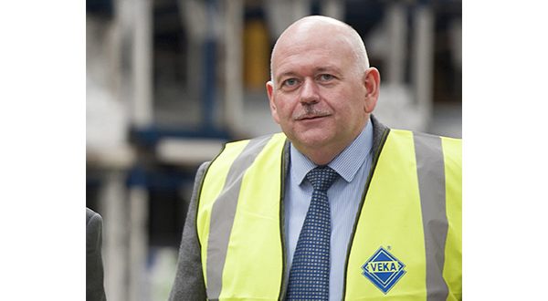PAUL ARMSTRONG HELPS THE VEKA UK GROUP CONTINUE IN THE RIGHT DIRECTION