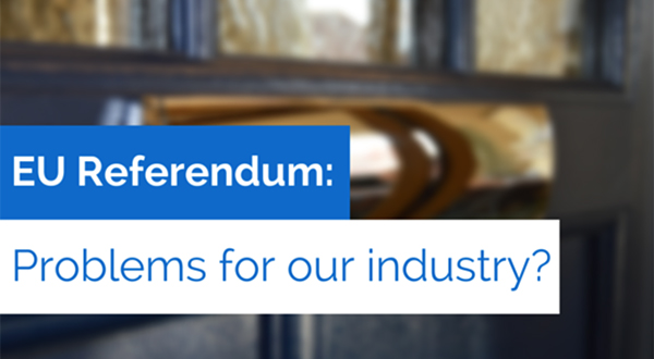 Could The #EUref Cause Problems For The Window And Door Industry?