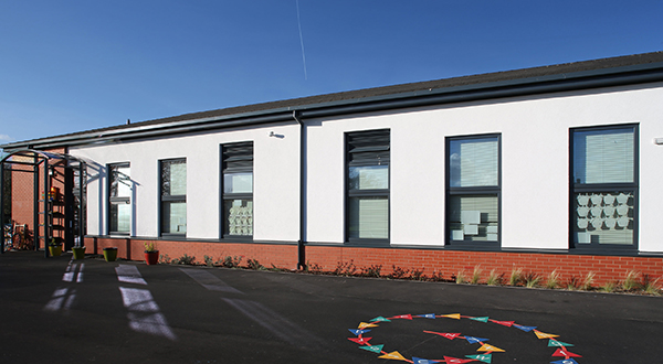 New school puts Senior's PURe® windows to the test