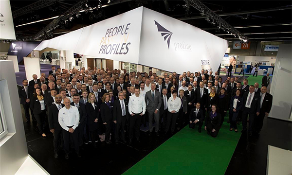 PROFINE DELIGHTS THE CROWDS AT FENSTERBAU