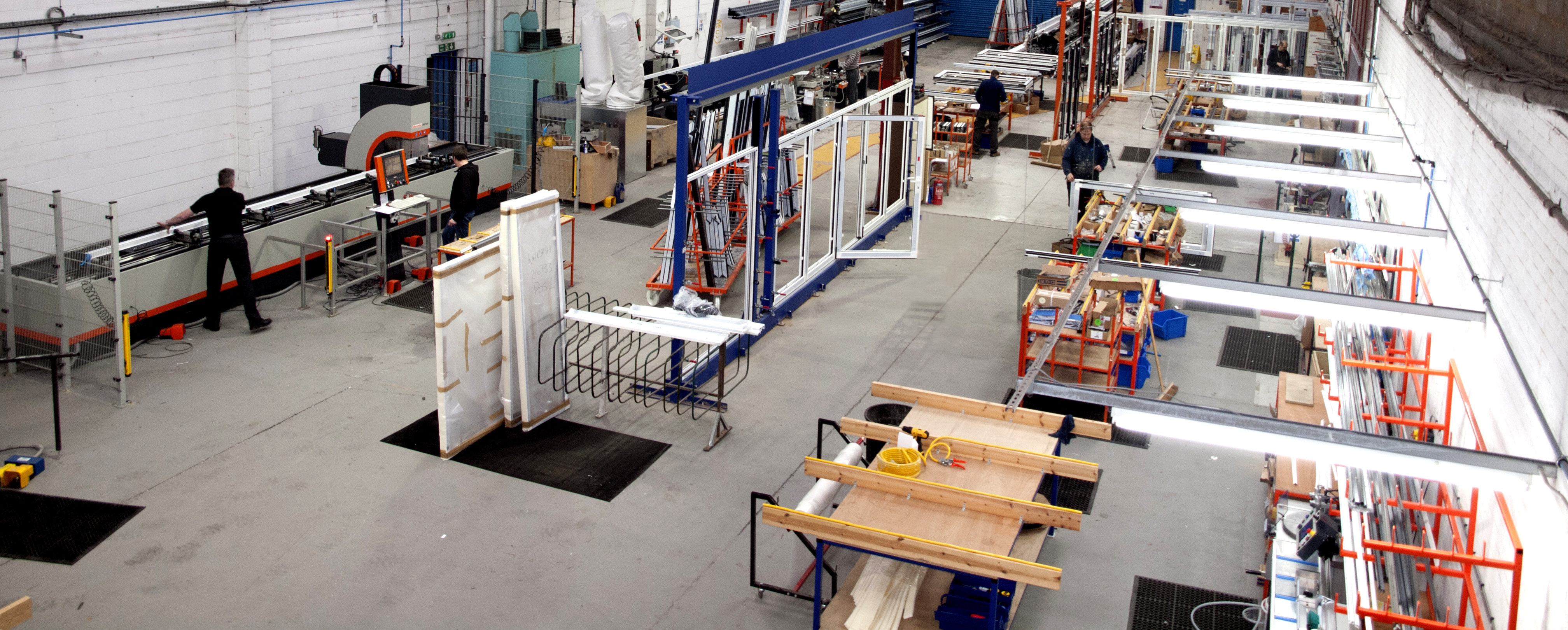 BRAND NEW FACILITIES FOR A TWO-FOLD INCREASE IN OUTPUT