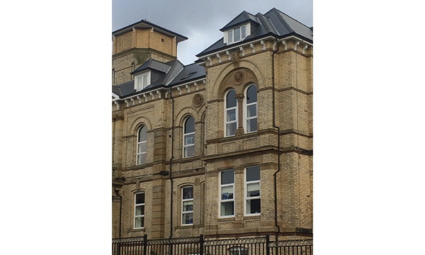 ARCHES AND CURVES RESTORE VICTORIAN HOSPITAL LANDMARK