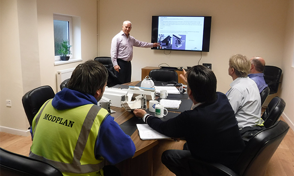 MODPLAN'S TRAINING CENTRE ADDS VALUE TO THEIR CUSTOMERS' BUSINESSES