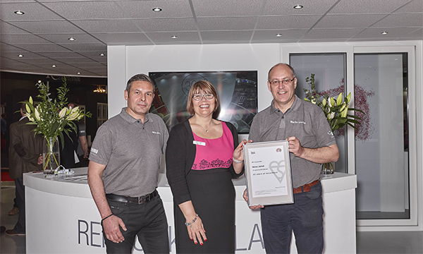 REHAU MARKS 25 YEARS WITH BSI KITEMARK