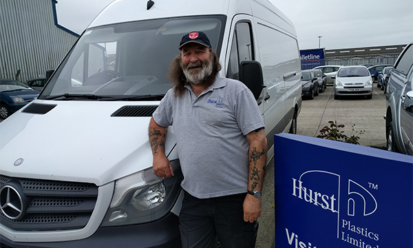 HURST DRIVER GOES THE EXTRA MILE