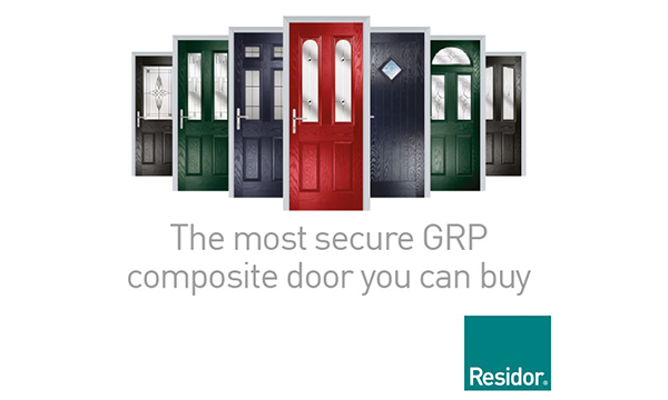 RESIDOR IS THE MOST SECURE GRP COMPOSITE DOOR