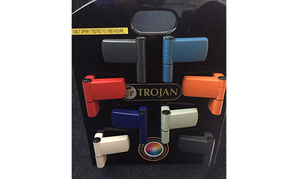 TROJAN'S BESPOKE – ANY RAL COLOUR DOOR FURNITURE OFFERS A PERFECTLY COORDINATED LOOK