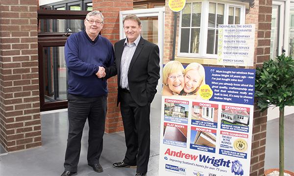 FROM COLLEAGUE TO CLIENT – COLIN'S STILL A VEKA MAN