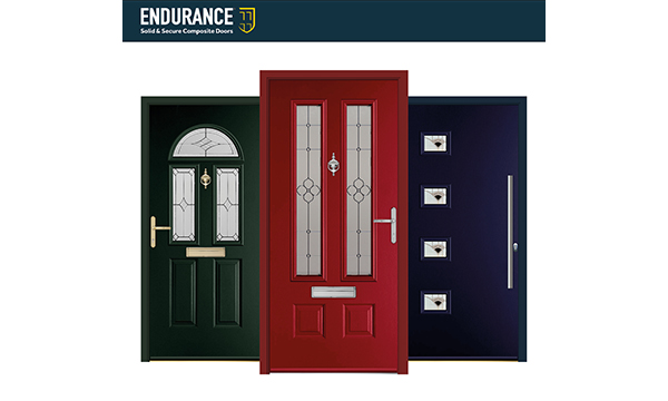 ENDURANCE ADD RED, GREEN AND BLUE DOOR FRAME COLOURS