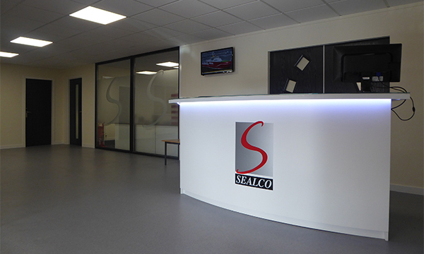 REFURBISHED TRADE COUNTER AND SHOWROOM SEALS HARDWARE DISTRIBUTOR'S EXPERTISE