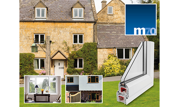 THE VEKA UK GROUP UNVEILS THE NEW M70 SYSTEM