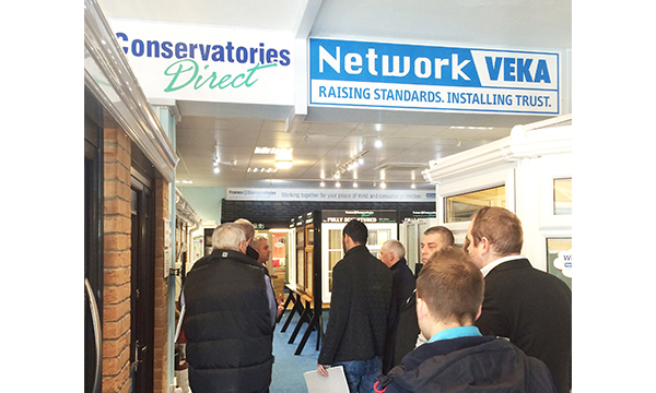 FRAMES CONSERVATORIES DIRECT HOSTS NETWORK VEKA BEST-PRACTICE DAY