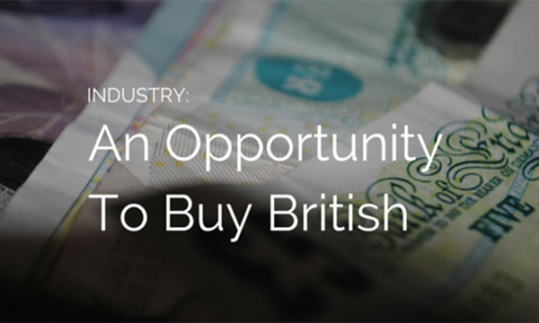 An Opportunity To Buy British
