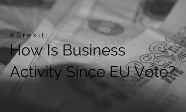 Has Business Activity Dropped Since The Brexit Vote?