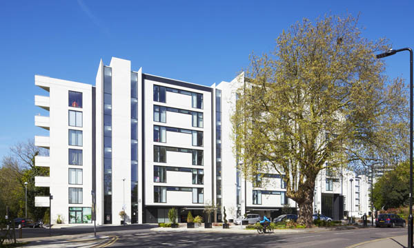 6,000M2 OF CURTAIN WALLING FOR ELEGANT NEW APARTMENTS SCHEME IN LEAFY LONDON SUBURB