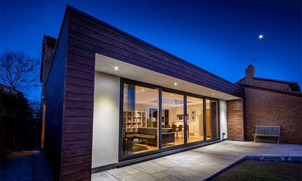 PATIOMASTER MEMBER SUPPLIES DOORS FOR IMPRESSIVE LLANDUDNO HOUSE RE-MODEL