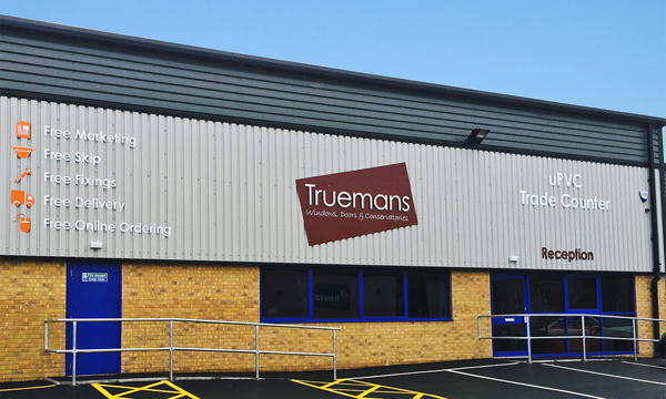 TRUEMANS RELOCATED BRANCH DUE TO INCREASING DEMAND