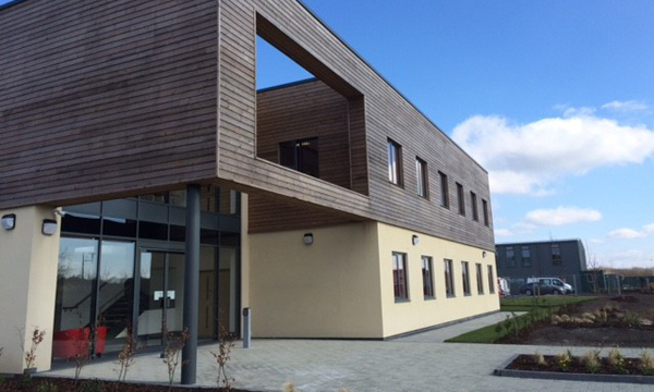 MODERN PURPOSE BUILT BUILDING UNITES CHARITY