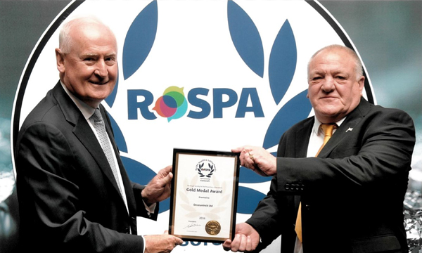 DECEUNINCK AWARDED ROSPA GOLD MEDAL FOR HEALTH & SAFETY