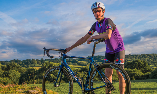 ELLIOT PEDALS UP VALUABLE SUPPORT FOR CHARITY